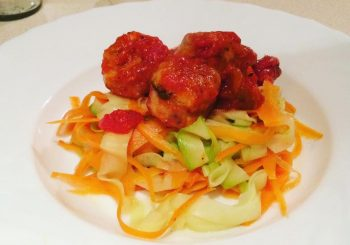 Warzywne spaghetti
