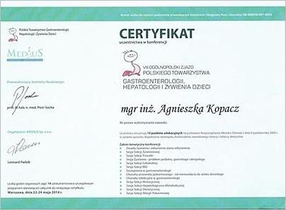 VII Ogólnopolski Zjazd Polskiego Towarzystwa Gastroenterologii, Hepatologii i Żywienia Dzieci