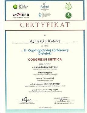 III Ogólnopolska Konferencja Dietetyki
