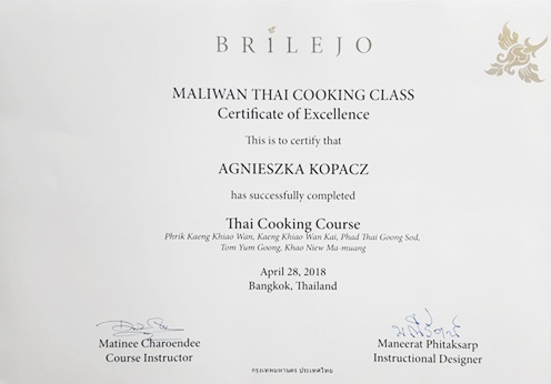 Kurs gotowania kuchni tajskiej