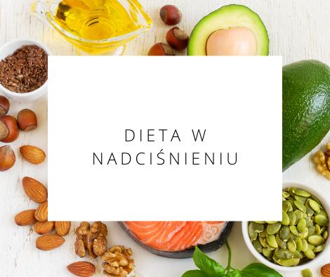 dieta w nadciśnieniu