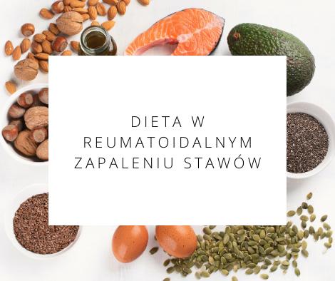 dieta w reumatoidalnym zapaleniu stawów